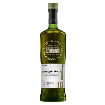 SMWS 42.41 'Message in a bottle' 2006 / 10 years old 57.1%