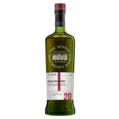 SMWS 46.69 'Ruby boozeday' 1998 / 20 years old 55.4%