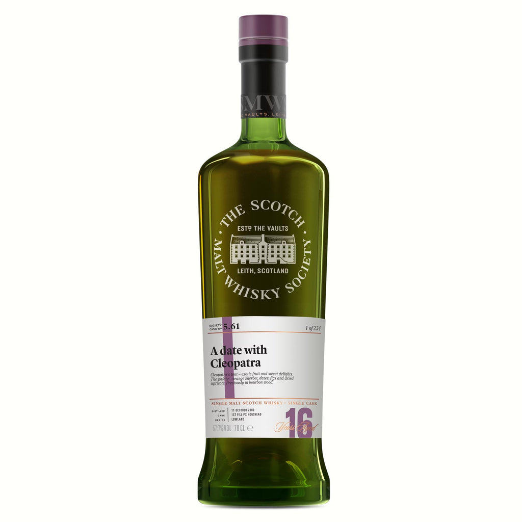 SMWS 5.61 'A date with Cleopatra' 2000 / 16 years old 57.7%
