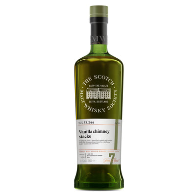 SMWS 53.244 'Vanilla chimney stacks' 2010 / 7 years old 58.8%