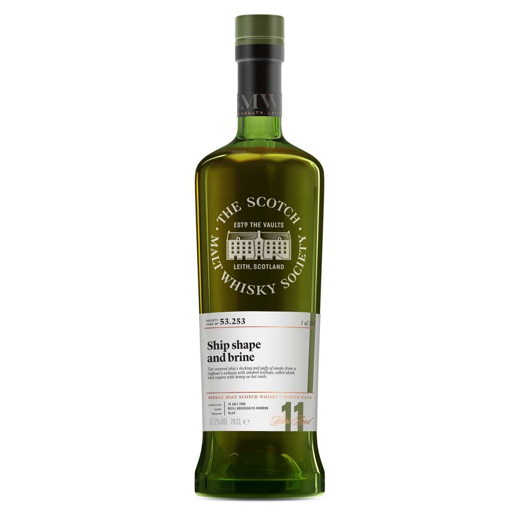 SMWS 53.253 'Ship shape and brine' 2006 / 11 years old 57.2%
