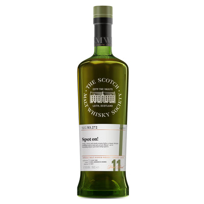 SMWS 53.272 'Spot on!' 2006 / 11 years old 57.8%