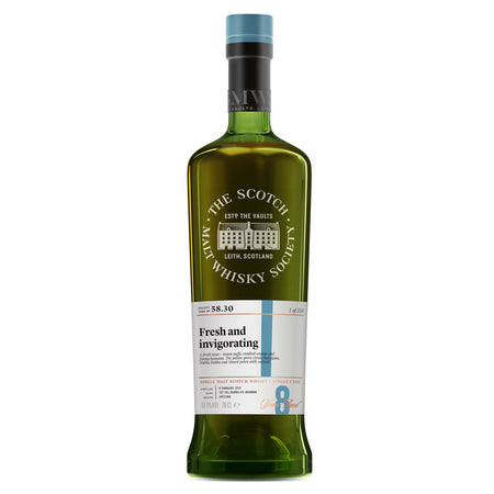 SMWS 58.30 'Fresh and invigorating' 2010 / 8 years old 60.9%