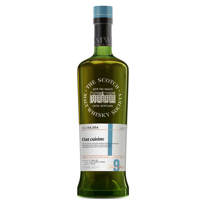 SMWS 64.104 'Oat cusine' 2008 / 9 years old 61.8%