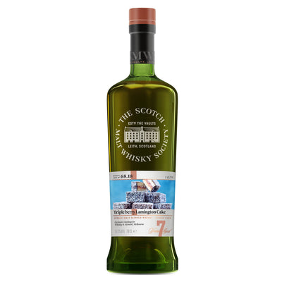 SMWS 68.18 'Triple berry Lamington cake' 2010 / 7 years old 58.3%