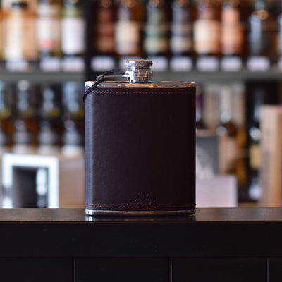 Burgundy 6oz Hip Flask