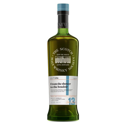 SMWS 7.196 'From the shower to the boudoir' 2003 / 13 years old 56.2%