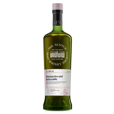 SMWS 84.25 'Distinctive and delectable' 2008 / 9 years old 56.4%