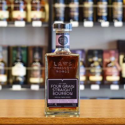 A.D. Laws Special Finish - Cognac 47.5%