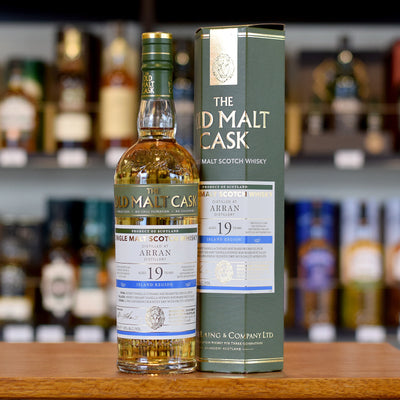 Arran 'Old Malt Cask' 1996 / 19 years old 50%