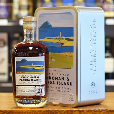 Arran 'Kildonan & Pladda Island 21 years old' Volume 3 50.4%