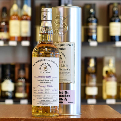 Auchentoshan 'Signatory' 2000 / 16 years old 46%