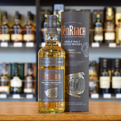 BenRiach Peated Cask Strength Batch 1 56%
