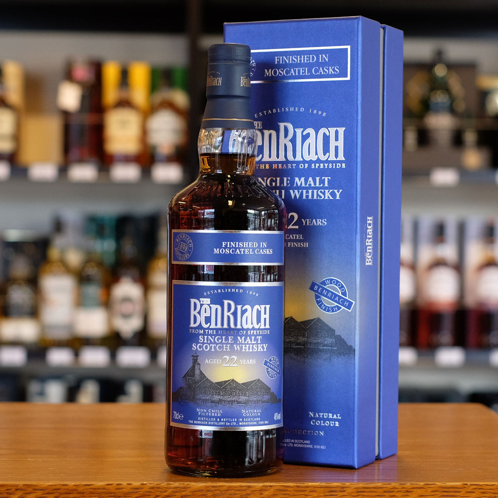 BenRiach 'Moscatel Cask Finish' 22 years old 46%