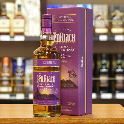 BenRiach 'Dark Rum Finish' 22 years old 46%