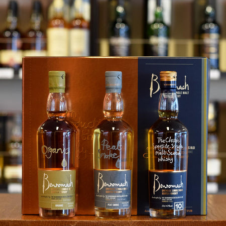 Benromach Trio Gift Pack 3x200ml 43% - 46%