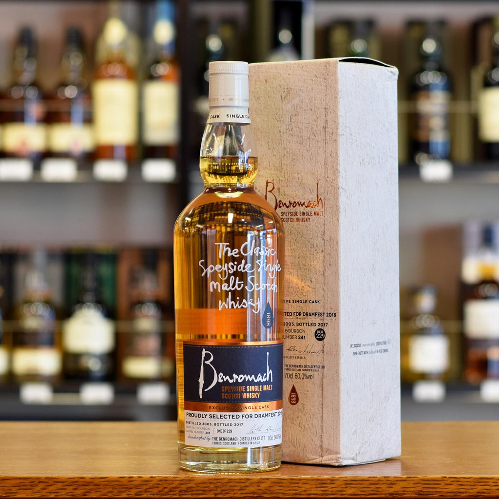 Benromach 'DramFest 2018 Bottling' 2005 / 2017 #241 60%