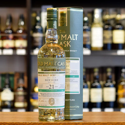 Bowmore 'Old Malt Cask' 1996 / 21 years old 50%