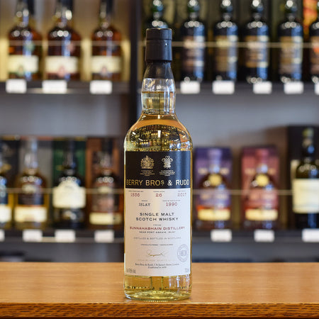Bunnahabhain 1990 'BBR' 26 years old #1536 47.8%