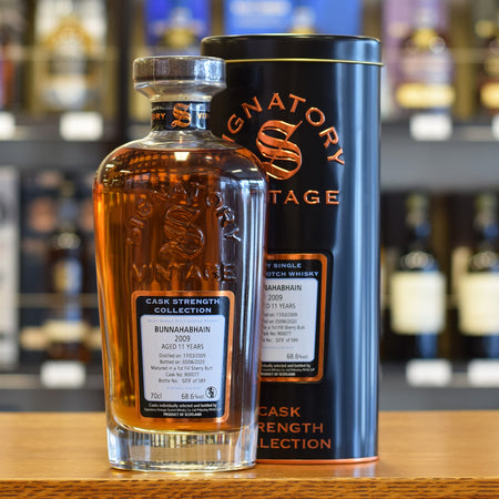 Bunnahabhain 'Signatory' 2009 / 11 years old 68.6%