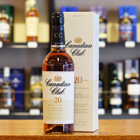 Canadian Club 20 year old 40%