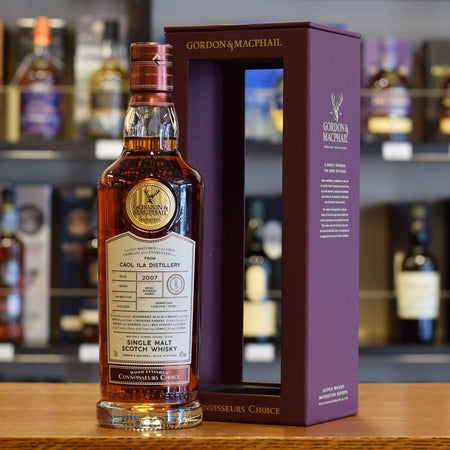 Caol Ila 'Gordon & MacPhail' Hermitage Wine Cask Finish 2007 / 12 years old 45%