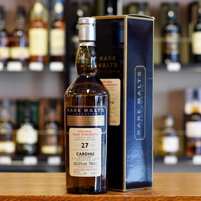 Cardhu 'Rare Malts' 1973 / 27 years old 60.02%
