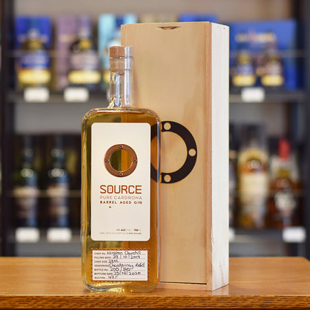The Source Gin 'Barrel Aged Gin Chardonnay Refill - Winston Churchill' 47%