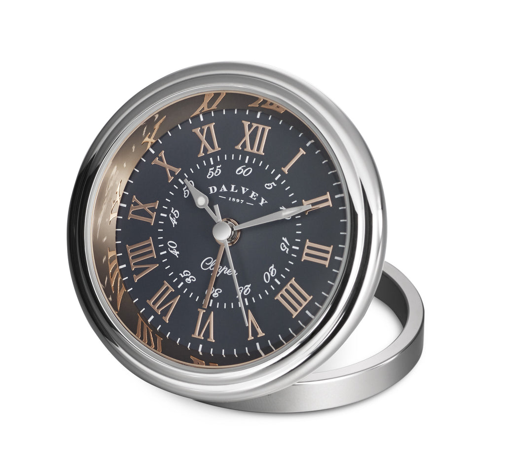 Dalvey Clipper Clock (Rose Gold)