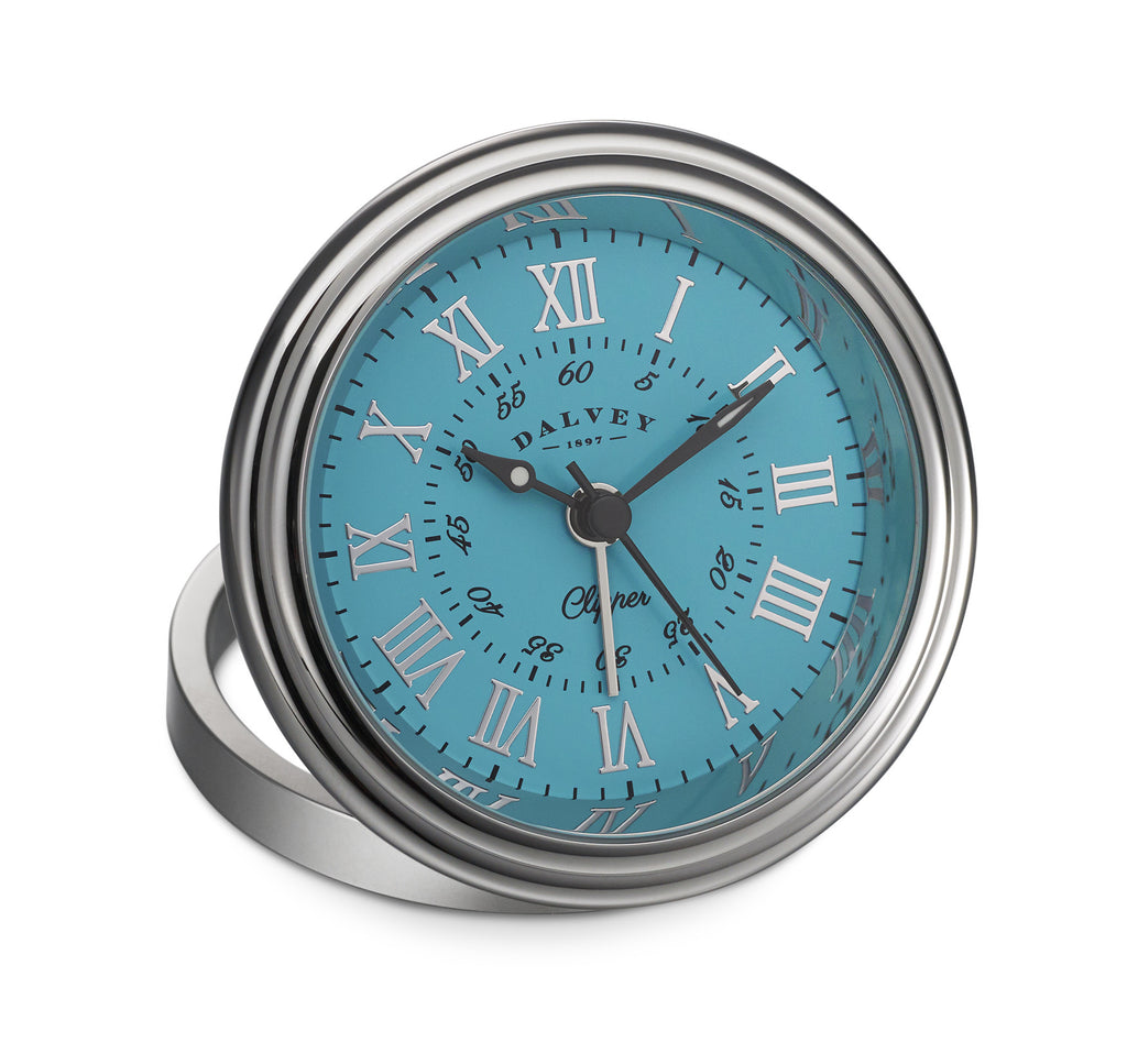 Dalvey Clipper Clock (Turquoise)
