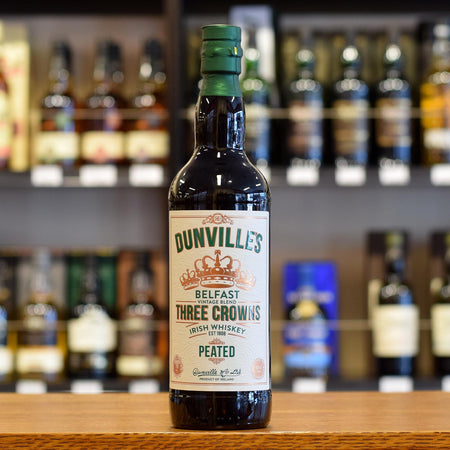 Dunville's 'Three Crowns' Peated 43.5%