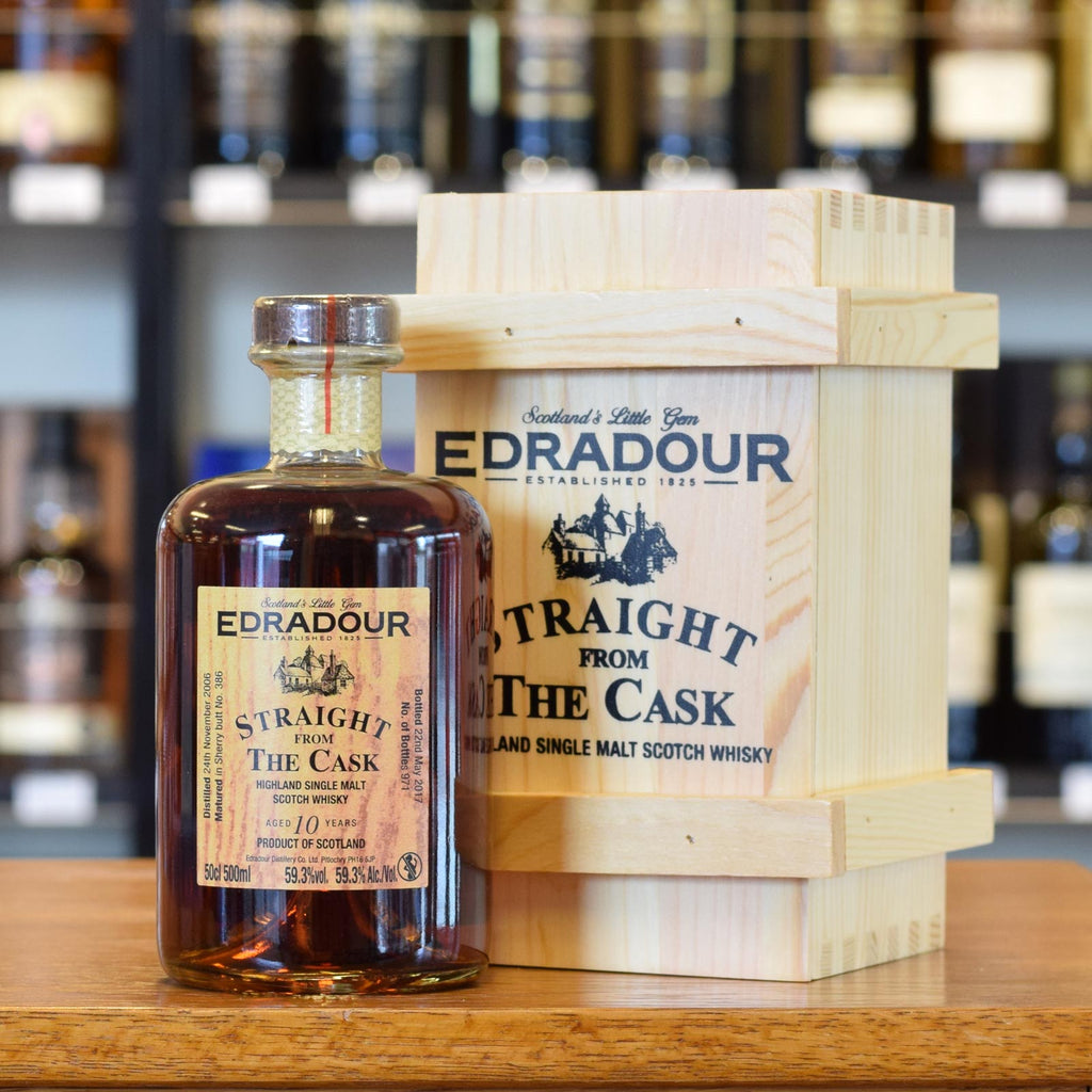 Edradour 'Straight From The Cask' 10 years old 59.3% 500ml