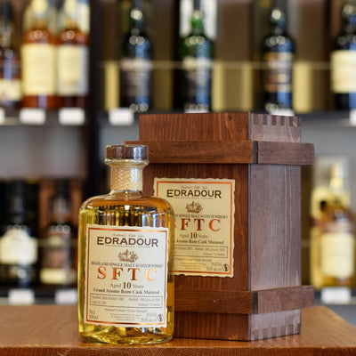Edradour 'Straight From The Cask' Rum Cask 10 years old 56.9% 500ml