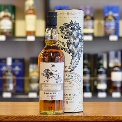 Lagavulin 9 Year Old 'Game of Thrones House Lannister' 46%