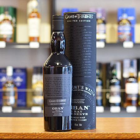Oban Bay Reserve 'Game of Thrones The Night?s Watch' 43%