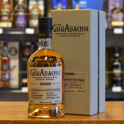 GlenAllachie 2009 / 10 years old #3727 58.9%