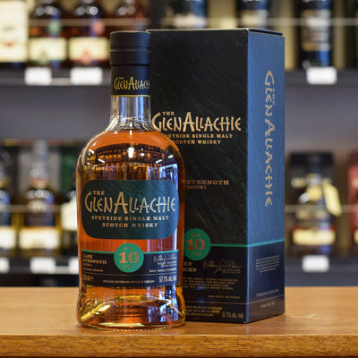 GlenAllachie 'Cask Strength' 10 years old Batch #1 57.1%