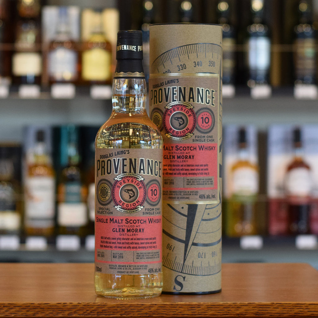 Glen Moray 'Provenance' 2005 / 10 years old 46%
