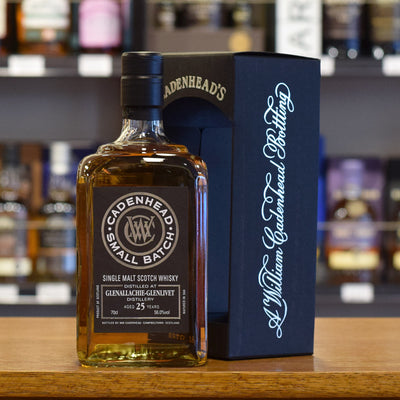 Glenallachie 'Cadenhead' 1992 / 25 years old 56%