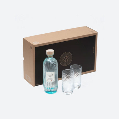 Isle of Harris Gin Highball Serve Gift Set 45%