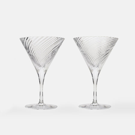 Isle of Harris Gin Martini Glass Set of Two