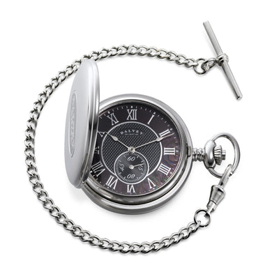 Dalvey Hunter Pocket Watch (Black Pearl)