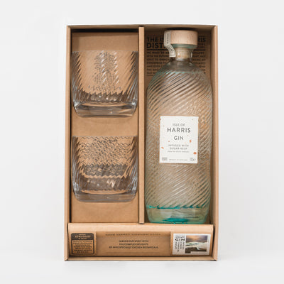 Isle of Harris Gin Serve Gift Set 45%