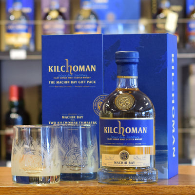 Kilchoman 'Machir Bay' Gift Pack with Glasses 46%