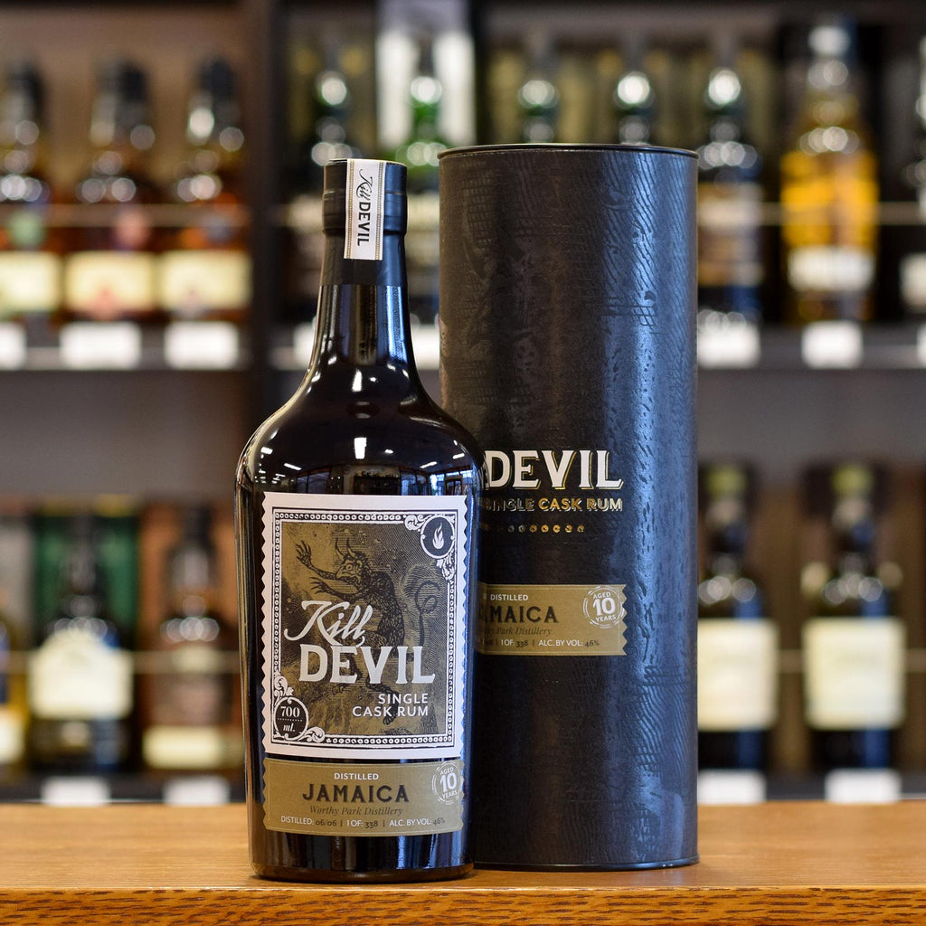 Kill Devil Rum Jamaica 'Worthy Park' 10 years old 46%