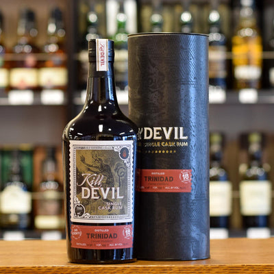 Kill Devil Rum Trinidad (Caroni distillery) 18 years old 63.2%