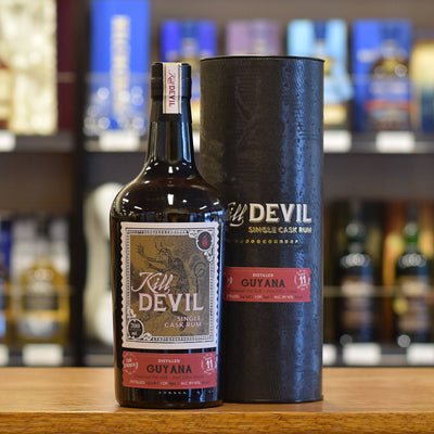 Kill Devil 'Guyana Diamond Pot Still, Port Ellen Cask Finish' 11 years old 60.9%