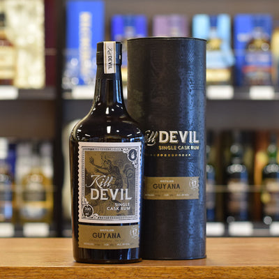 Kill Devil 'Guyana Uitlvugt Distillery' 17 years old 46%