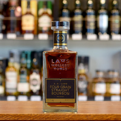 A.D. Laws Four Grain Straight Bourbon 47.5%