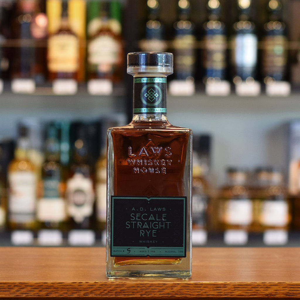 A.D. Laws Small Batch Secale Rye 50%